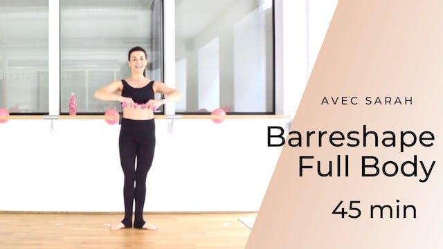 Barreshape Full Body Sarah 45 mn