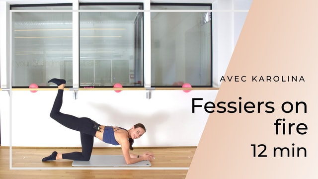 New Year New You ! Fessiers on Fire Karolina 12 mn