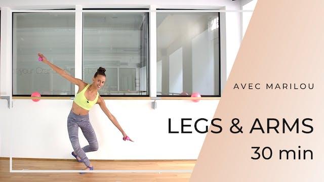 Semaine 2 - Jour 5 - 30' LEGS & ARMS