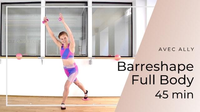 Barreshape Full Body Ally 45mn