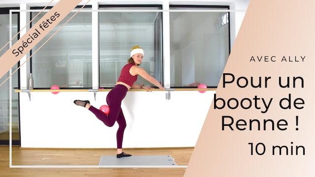 Workout Spécial Fêtes ! Pour un Booty de Renne ! Ally 10 mn