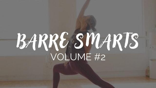 Barre Smarts Newsletter #2