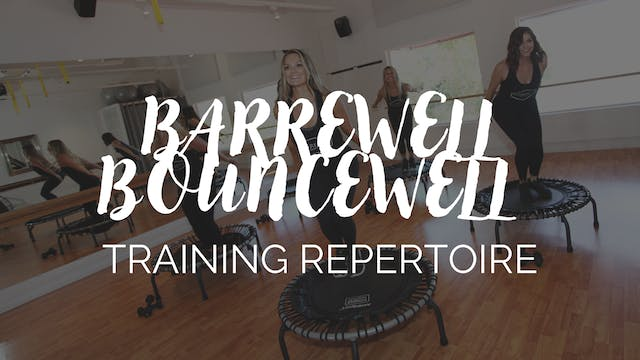 BarreWell Bounce Training Repertoire