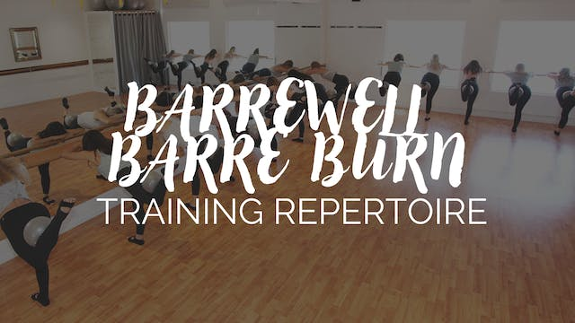 BarreWell Barre Burn Barre Series Rep...