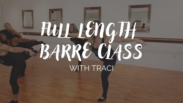 Full Length Barre Burn Class #2