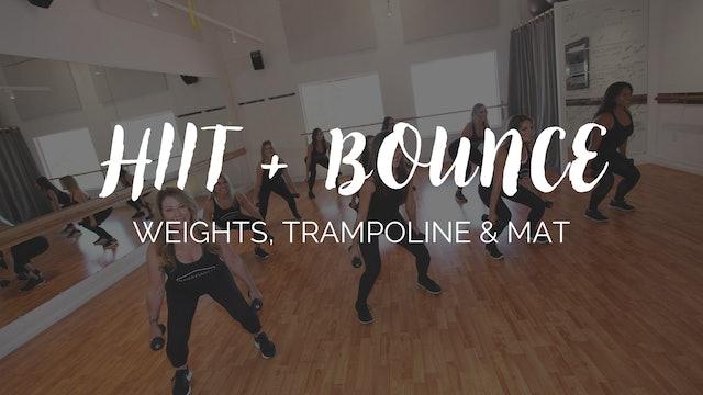 HIIT + Bounce