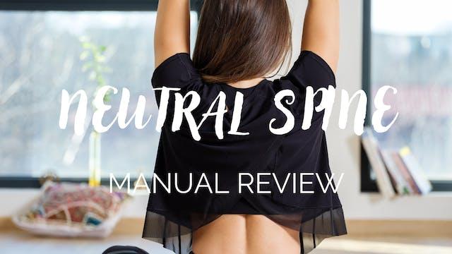 BarreWell Barre Burn Neutral Spine