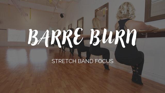 Barre Burn Class - Stretch Band Focus