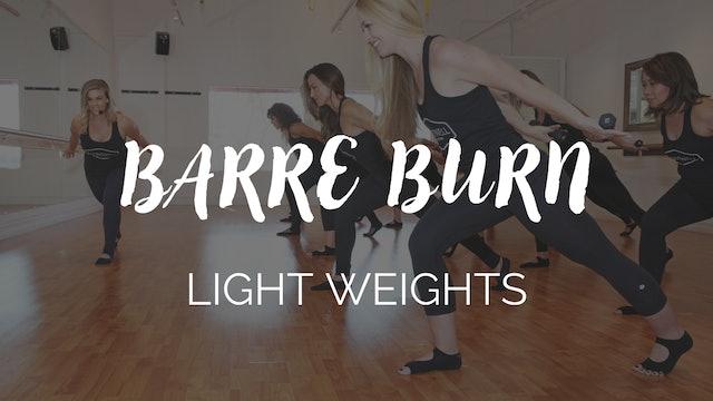 Barre Burn Class