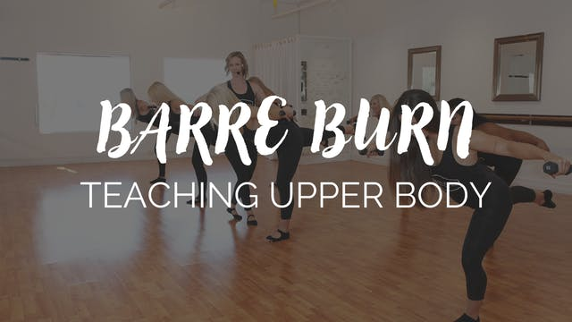 Teaching Upper Body