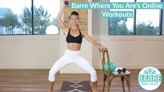 Online Barre Workouts Library