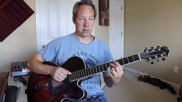 Round Midnight - Chord Melody - Chord Melody Lessons - Barry Greene ...