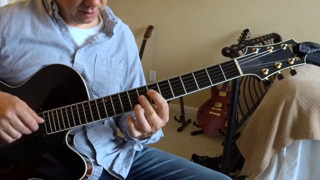 Round Midnight - Chord Melody