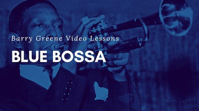 Blue Bossa - Tune Based
