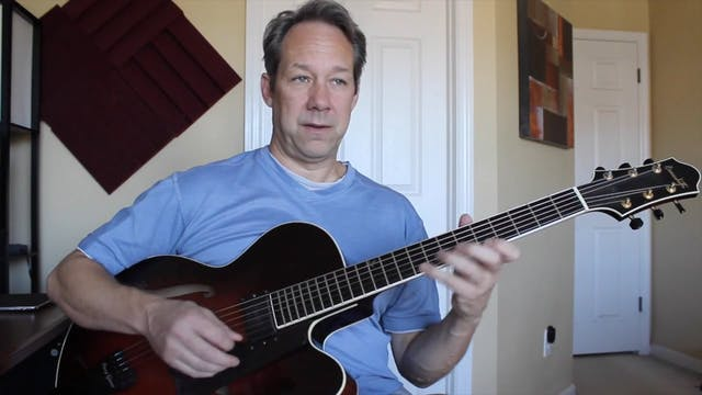 Harmonizing Solo's (4 on 6 and Blues) - Topic Driven