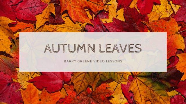 Autumn Leaves - Tune Based