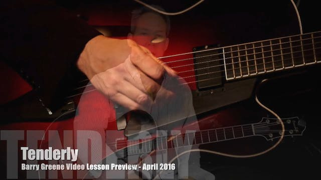 Tenderly - Chord Melody