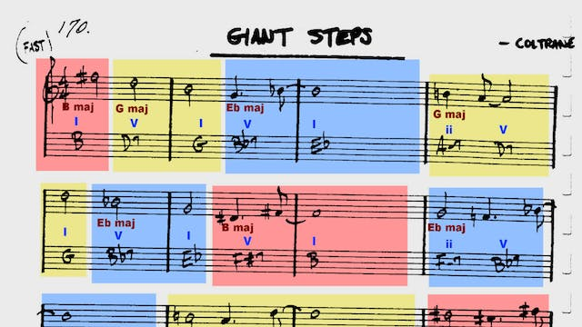 Giant Steps - Tune Based