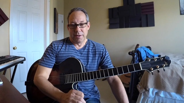 In A Sentimental Mood Chord Melody Barry Greene Video Lessons