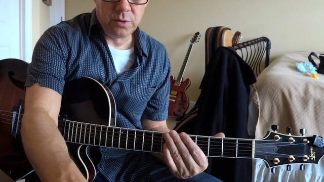 Static Chord Blues Playing - Topic Driven