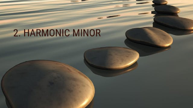 2. The Harmonic Minor Scale - Steppin...