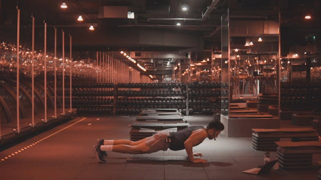 Wednesday - Chest, Back & Abs SHRED with Alex M