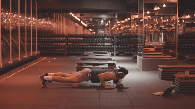 Wednesday - Chest, Back & Abs STRENGT...