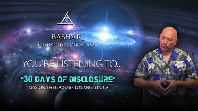 30 Days of Disclosure - Audio Only (1/1)