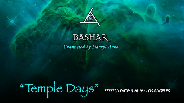 Temple Days - Audio Only (1.5 hours)