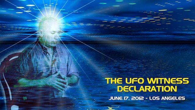 The UFO Witness Declaration - Video (2+ hours)