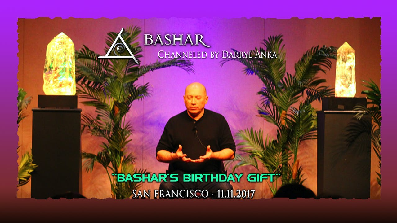 Bashar's Birthday Gift - Video (Approx 3 hours 45 min)
