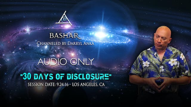 30 Days of Disclosure - Audio Only (2 hours)