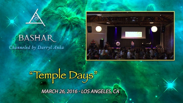 Temple Days - Video (1.5 hours)