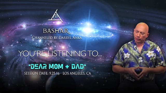 Dear Mom and Dad - Audio Only (1/1)