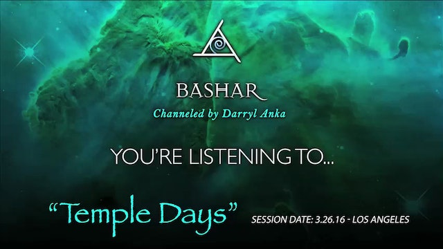 Temple Days - Audio Only