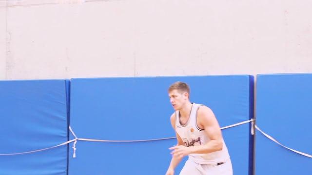 Basketball Big Man Skills & Drills - Chapter 1 - Center Warm-Up