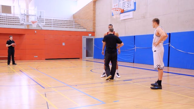 Basketball Power Forward Skills & Drills - Chapter 2 -Big Man Triple Threat