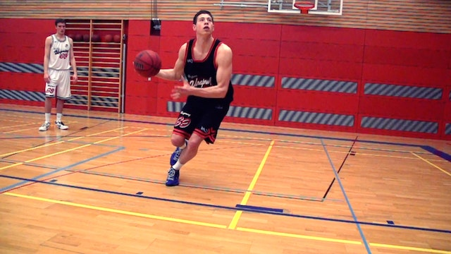 Basketball Power Forward Skills & Drills - Chapter 3 - Face up drills