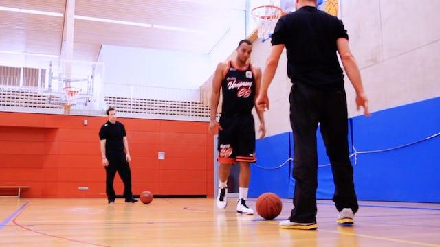 Basketball Big Man Skills & Drills - Chapter 5 - Dunking drill