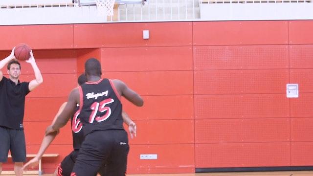 Basketball Big Man Skills & Drills - Chapter 6 - One-on-One drill