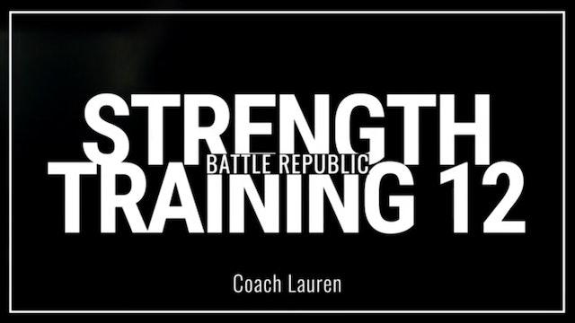 Episode 12:  Coach Lauren