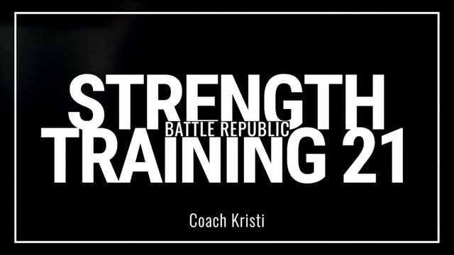 Episode 21: Coach Kristi