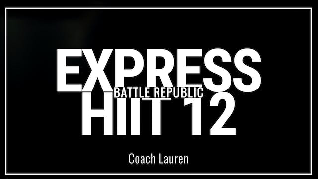 Episode 12: Coach Lauren
