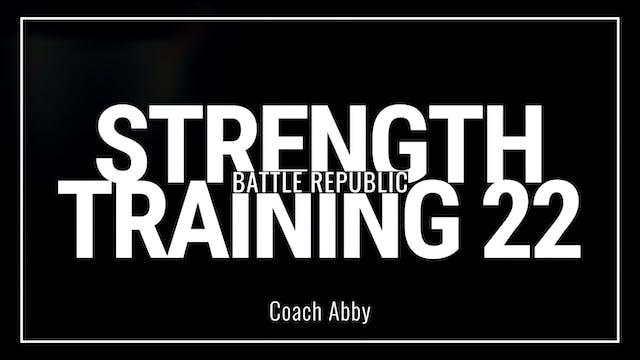 Episode 22: Coach Abby