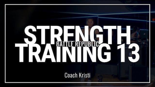Episode 13: Coach Kristi
