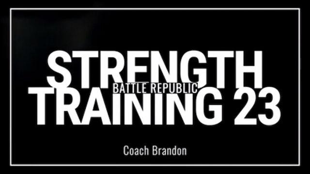 Episode 23: Coach Brandon