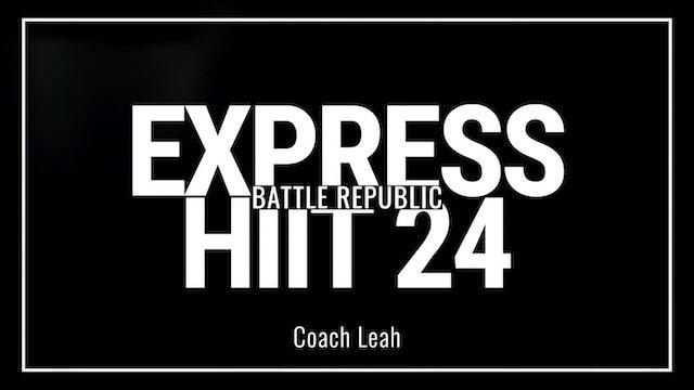 Episode 24: Coach Leah