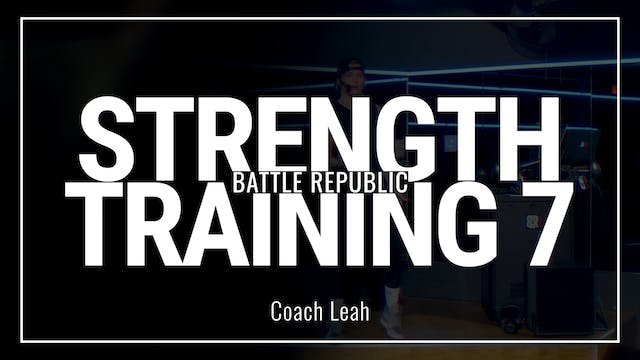 Episode 7: Coach Leah