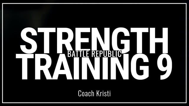 Episode 9: Coach Kristi