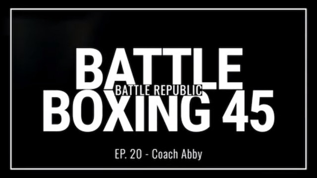 Episode 20: Coach Abby